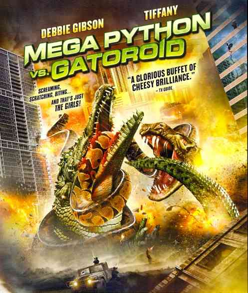 MEGA PYTHON VS GATOROID BY GIBSON,DEBBIE (Blu-Ray)